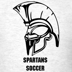 Ash  trojans or spartans custom sports graphic T-Shirts - Men's T-Shirt