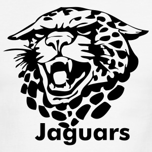 White/black jaguars T-Shirts - Men's Ringer T-Shirt