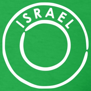 Bright green Israel T-Shirts - Men's T-Shirt