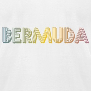 White Lennon Bermuda NYC T-Shirts - Men's T-Shirt by American Apparel