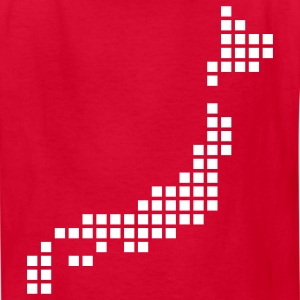Red Japan Kids' Shirts - Kids' T-Shirt