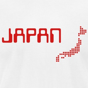 White Japan T-Shirts - Men's T-Shirt by American Apparel