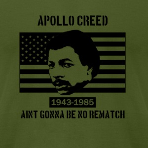 In Memory of Apollo Creed - Men's T-Shirt by American Apparel