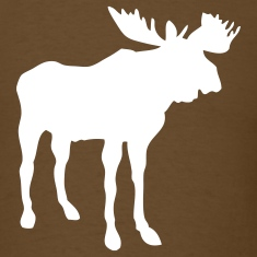 Brown moose T-Shirts