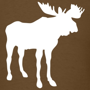 Brown moose T-Shirts - Men's T-Shirt
