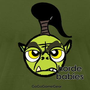 Horde Babies: George AA T-Shirt - Men's T-Shirt by American Apparel