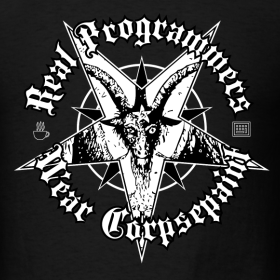 Design ~ Real Programmers Wear Corpsepaint