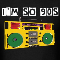 Black boom box T-Shirt