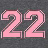 Design ~ LUCKY NUMBER 22 T-Shirt