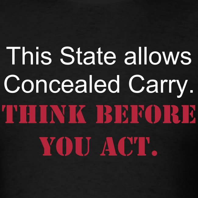 Think Concealed!!