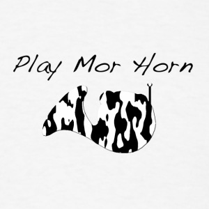 Play Mor French Horn - Men's T-Shirt