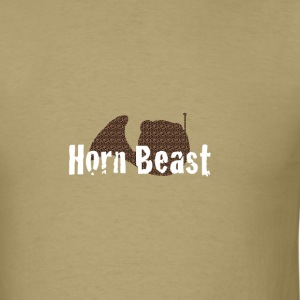 Horn Beast French Horn T-shirt - Men's T-Shirt