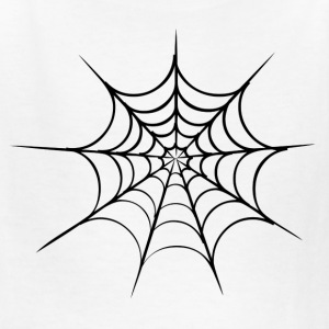 White spider web Kids' Shirts - Kids' T-Shirt