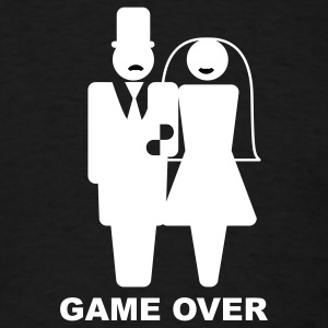 Black Game Over T-Shirts - Men's T-Shirt