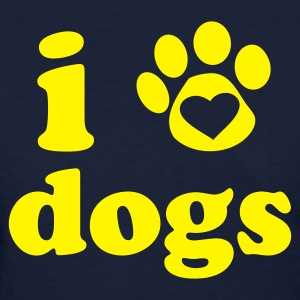 I Heart Dogs Women's T-Shirt - Women's T-Shirt