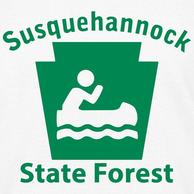 Susquehannock State Forest Keystone Boat