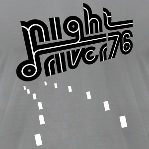 Slate Night Driver (pos) T-Shirts - Men's T-Shirt by American Apparel