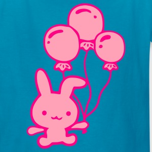Turquoise kawaii rabbit Kids' Shirts - Kids' T-Shirt