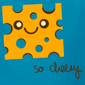 Turquoise so cheesy Kids' Shirts - Kids' T-Shirt