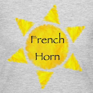 French Horn Sun - Women's Long Sleeve Jersey T-Shirt