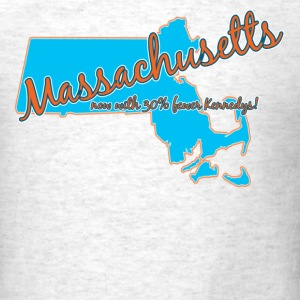 Ash  Massachusetts T-Shirts - Men's T-Shirt