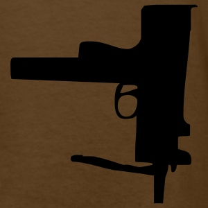 Brown gun T-Shirts - Men's T-Shirt