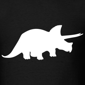Black dinosaur T-Shirts - Men's T-Shirt