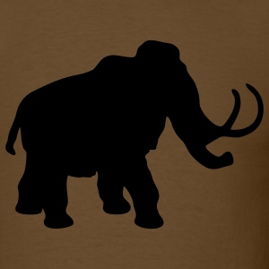 Brown mammoth T-Shirts - Men's T-Shirt