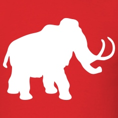 Red mammoth T-Shirts