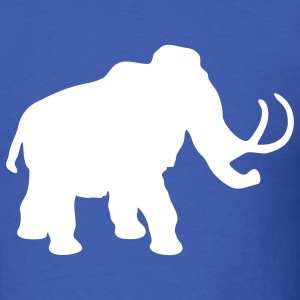Royal blue mammoth T-Shirts - Men's T-Shirt