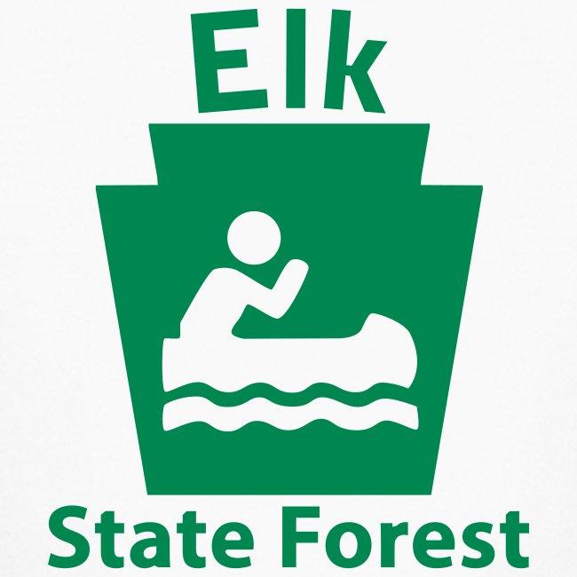 Elk State Forest Keystone Boat