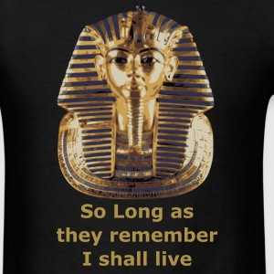 Black King Tut T-Shirts - Men's T-Shirt