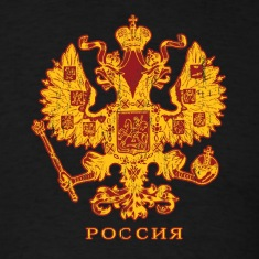 Black Russian Crest T-Shirts