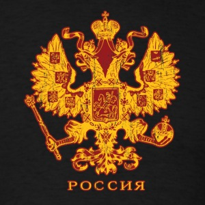 Black Russian Crest T-Shirts - Men's T-Shirt