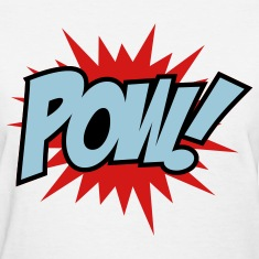 White Pow Women's T-Shirts