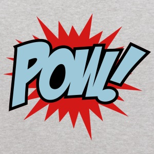 Heather grey Pow Sweatshirts - Kids' Hoodie