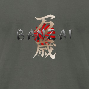 Banzai - Men's T-Shirt by American Apparel