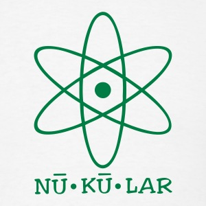 White nukular T-Shirts - Men's T-Shirt
