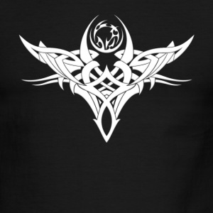 Tribal Tattoo - Men's Ringer T-Shirt