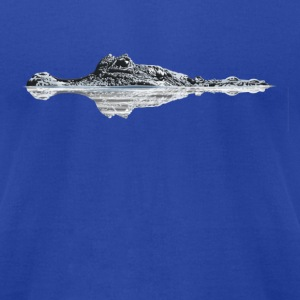 Crocodile - Men's T-Shirt by American Apparel