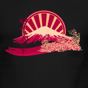 Mount Fuji - Men's Ringer T-Shirt