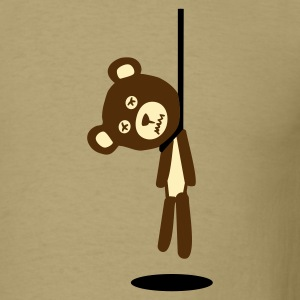 hanging bear - Men's T-Shirt