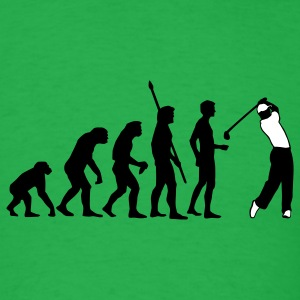 Bright green evolution_golf_b_2c T-Shirts - Men's T-Shirt