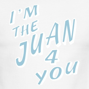 Red/white I'm The Juan For You T-Shirts - Men's Ringer T-Shirt