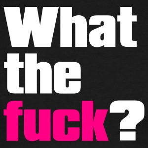 Black/white what the fuck ? T-Shirts - Men's Ringer T-Shirt
