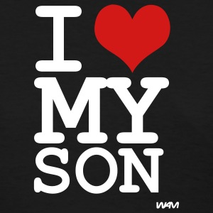 Black i love my son by wam Women's T-Shirts - Women's T-Shirt