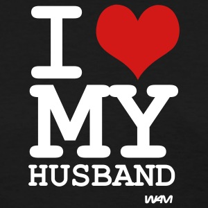 Black i love my husband by wam Women's T-Shirts - Women's T-Shirt