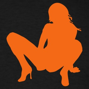 Black sexy7 T-Shirts - Men's T-Shirt