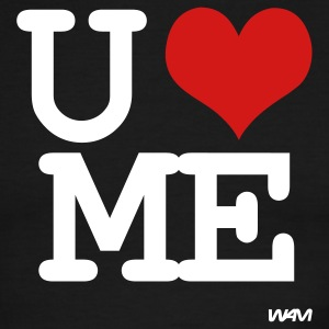 you love me T-shirts (manches courtes) - T-shirt à bords contrastants pour hommes American Apparel