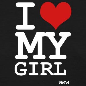 Black i love my girl by wam Women's T-Shirts - Women's T-Shirt